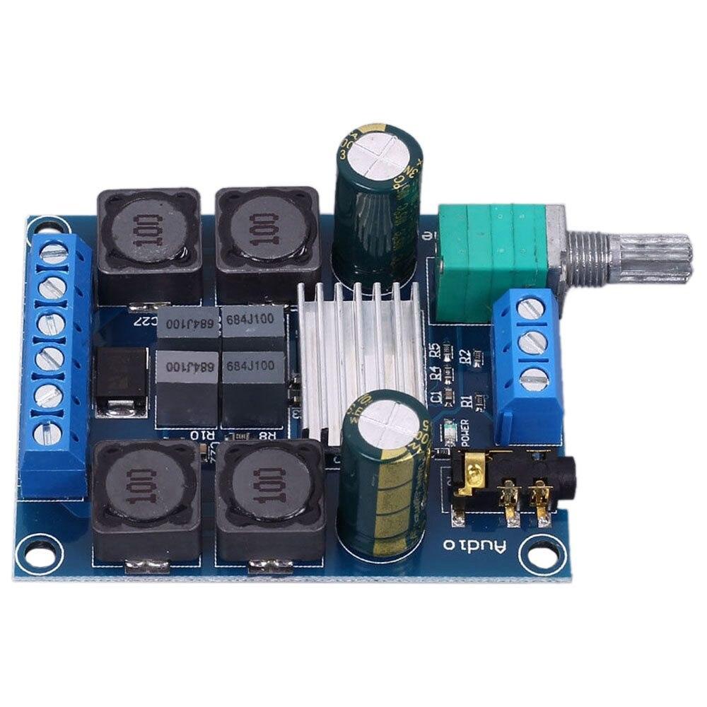 2×50 w Tpa3116d2 Dual Channel Stereo Amplificador Digital Board dc 4.5 27 v Classe d