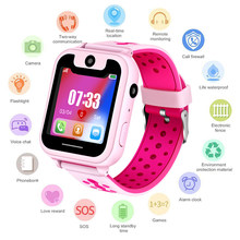 LIGE New Smart Children Watch Kid Smart Watches SOS Call LBS Base Station Positioning LED Color Screen Gift watch Children +Box(China)