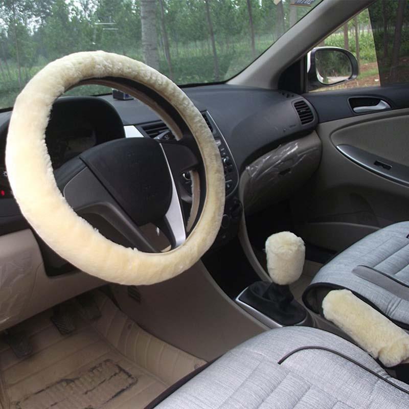 KKYSYELVA Қысқы автомобиль рульдік - Автокөліктің ішкі керек-жарақтары - фото 4