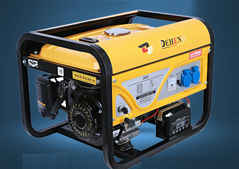 220V 3KW single-phase single-cylinder four-stroke gasoline generator Family/outdoor camping portable power generation equipment fast shipping unit price portable generator 3500 2 5kw 168f gx200 recoil starting ohv 6 5hp single phase 220v 50hz