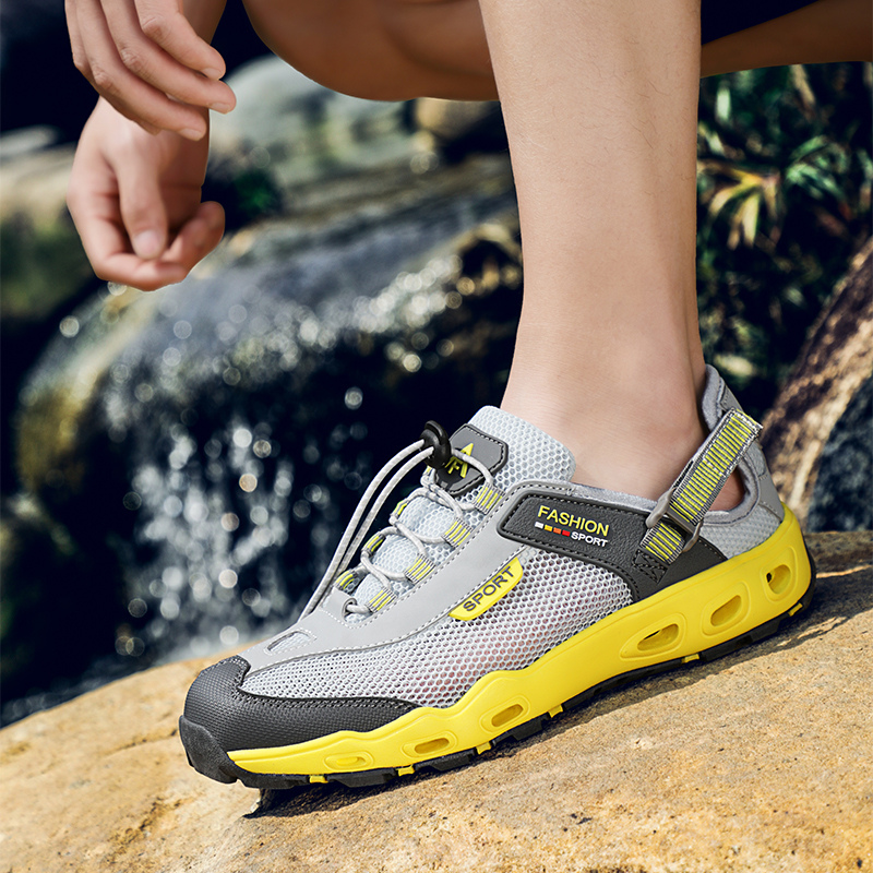 New Arrival Outdoor Aqua Shoes Sapatilhas Mulher Trekking Men Breathable Shoes Men's Running Shoes