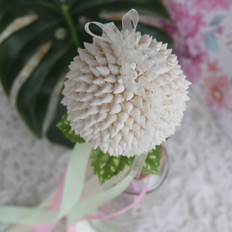 Besplatna dostava (2pcs / lot) Shell Flower Ball vrpce štapići - Kućni dekor - Foto 4