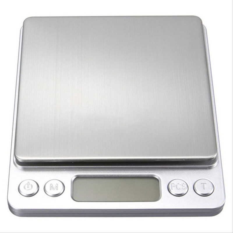 500g/3000g x 0.1g Digital Gram Scale Pocket Electronic Jewelry Weight Scales Tool  RT99