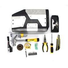 Pour BMW R1250GS LC R1200GS R 1250 adv Adventure 2014 2019 boîte à outils décorative en aluminium boîte à outils 4.2 litres boîte à outils support latéral gauche