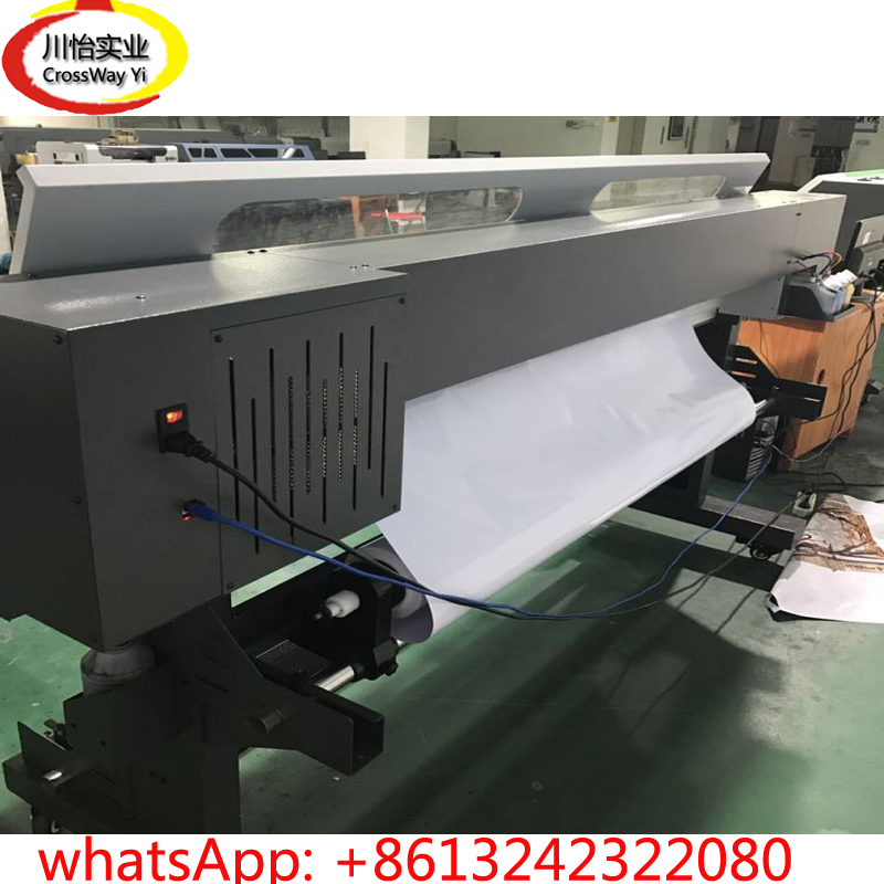 large size Roller Flex banner Eco solvent printer affordable price 1 6m xp600 head eco solvent digital printer entry level large format vinyl banner poster printing machine