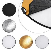 Handheld 110cm 43 5 in 1 Light Multi Collapsible Photo Reflector Board Disc Kit