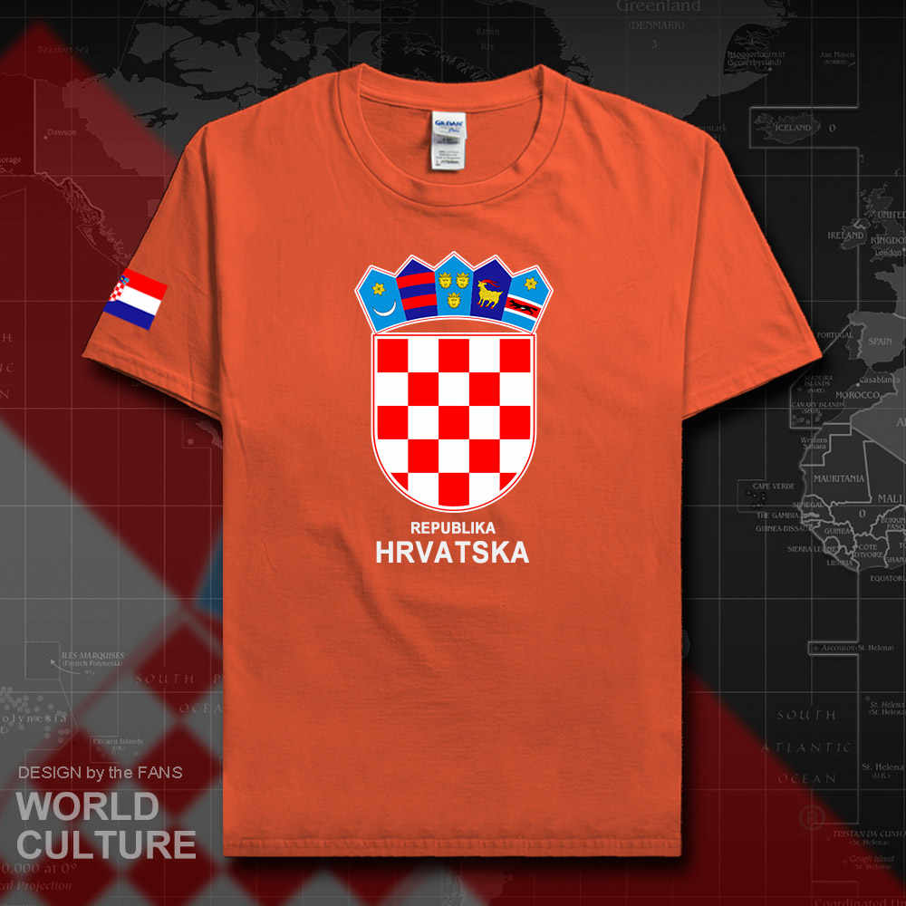 Detail Feedback Questions about Croatia Hrvatska Croatian men t shirt 2018  jersey nation tshirt 100% cotton t shirt clothing tees country sporting HRV  ... 7d4d3d82e