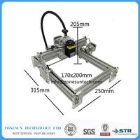 Laseraxe 405nm 5500mW DIY Desktop Mini Laser Engraver Leather Engraving Machine Laser Cutter Etcher Adjustable Laser