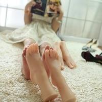Настоящая кожа секс куклы японская мастурбация полный Силиконовый жизнь размер поддельные ноги фетиш игрушки сексуальные игрушки ноги мод