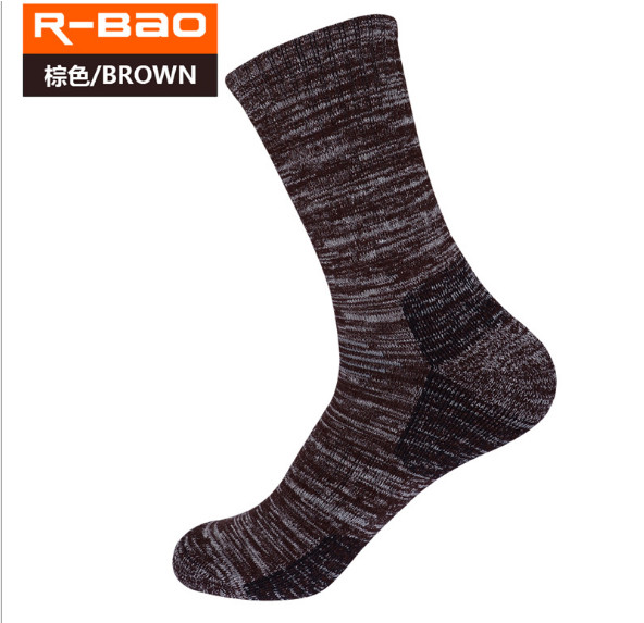 3 пары R-Бао RB3320 лыжный Носки для девочек 85% хлопок Походные носки Открытый Для Мужчинs Спортивные носки на весну и зиму подходят к Размеры 39 ...