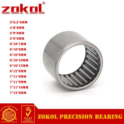 ZOKOL HK0306 HK0408 HK0508 HK0509 HK0607 HK0608 HK0609 HK0610 HK0612 HK0708 HK0709 Drwan Cup Caged Needle Roller Bearing