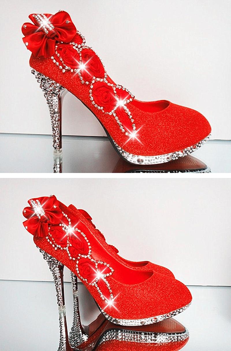19 Colorful Wedding Shoes Women Pumps Sexy Ladies Super High Heels Fashion Party Women Shoes Thin Heel 8cm 10cm YX721 4