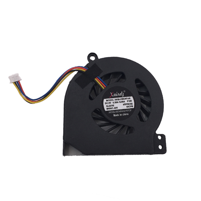 Купить с кэшбэком NEW Laptop Cooling fan for DELL Vostro 1014 1015 DP/N:0Y34KC DFS491105MH0T 010911B 3CVM8FAWI00 (DC 5V 0.5A) Replacement
