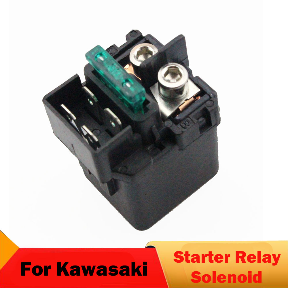 Motorcycle Starter Relay Solenoid For Kawasaki ZX1100