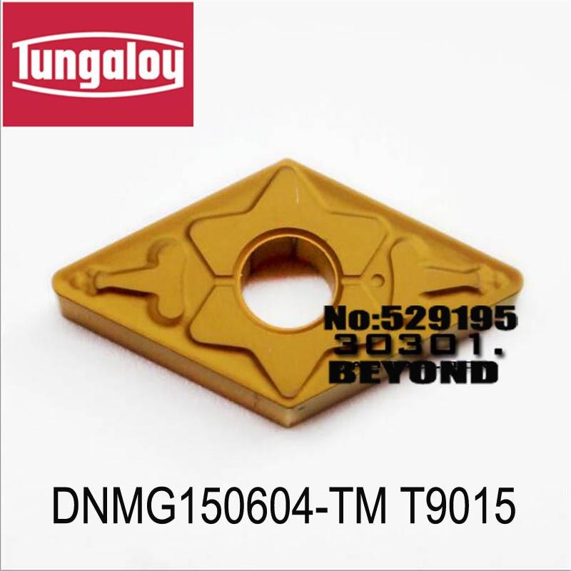 DNMG150604 TM T9015 DNMG150608 TM T9015 DNMG150612 TM T9015 original tungaloy carbide insert for cnc DNMG