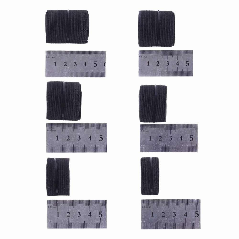1.1 yard Peruk Elastik Band 2.5 cm Siyah Renk Yapmak Için Peruk ve Dantel Frontal Kapatma 1 adet/grup Peruk Aksesuarları