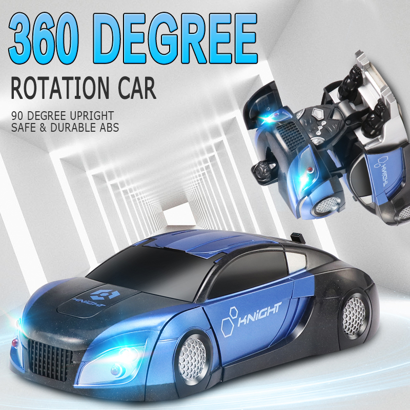 2In1RC Car Remote Control Car Stunt Transformation Robot Deformation Remote Control Anti Gravity RC Car Combat Toys For Boy Gift