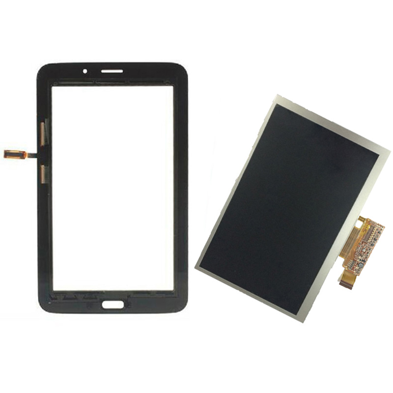 Black For Samsung Galaxy Tab 3 Lite 7.0 T111 SM-T111 Touch Screen Digitizer Sensor Glass + LCD Display Screen Panel Monitor free shipping touch screen with lcd display glass panel f501407vb f501407vd for china clone s5 i9600 sm g900f g900 smartphone