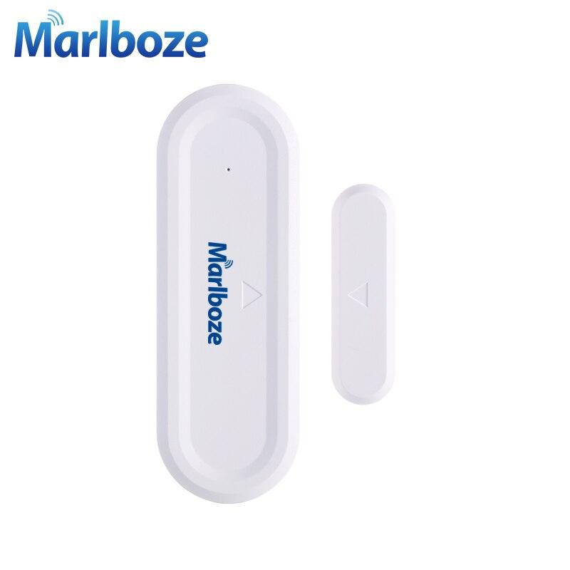 Marlboze 1 Pcs 433 MHZ Universel Sans Fil Porte Fenêtre Gap Capteur de Sécurité pour Notre 433 mhz Sécurité À La Maison GSM PSTN WIFI Système D'alarme