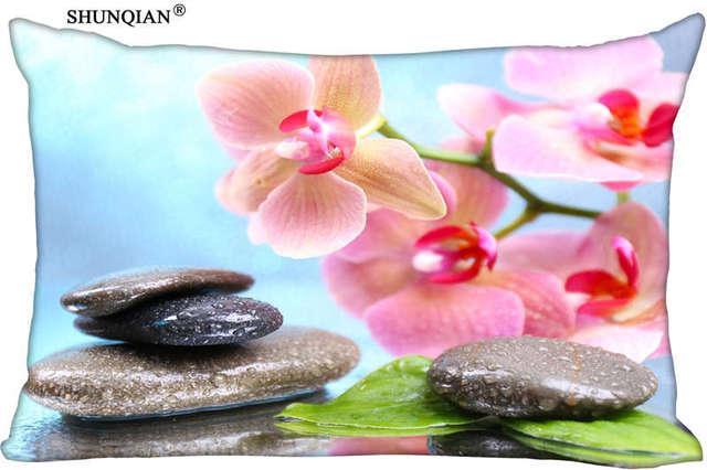 Aliexpress Buy New Natural Summer Pink Flower Pillow Case
