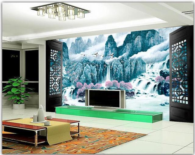 3d Wall Murals , Photo Scenery Outside Window Wallpaper, High End Mural For  Tv Part 94