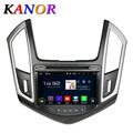 KANOR Android 5.1.1 Central Multimedia GPS Navigation For Chevrolet Cruze 2015 Car Radio with Cassette DVD Car Video Player