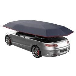 4.5x2.3M nowy samochód pojazd namiot parasol samochodowy osłona przeciwsłoneczna Oxford tkaniny poliestrowe okładki bez wspornika w Szyberdach  kabriolet i sztywny dach od Samochody i motocykle na