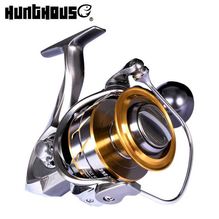 HuntHouse jigging fishing reel full metal spinning reel Saltist SW3000 SW10000 Jigging Spinning trolling reel 10BB