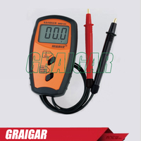 Voltmeter Of Internal Battery Resistance SM8124 Impedance Meter Tester