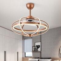 Led Ceiling Fan Light Restaurant Bedroom Fan Light Modern Minimalist Negative Ion Ceiling Fan Light