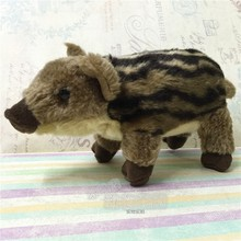 Cute Little Wild Boar Doll Children Toy Gift Plush Stuffed Animals Toys Holiday Gifts(China)