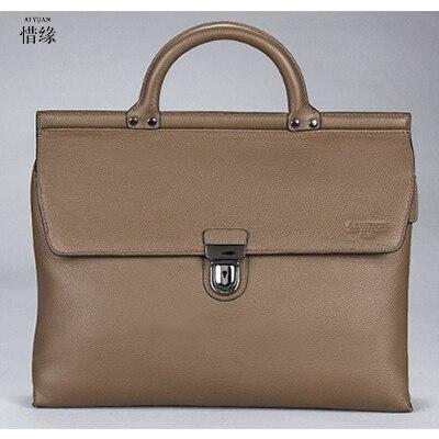 XIYUAN BRAND Men messenger bags genuine leather bag vintage man casual briefcase Crossbody Shoulder Travel bolso hombre Cowhide