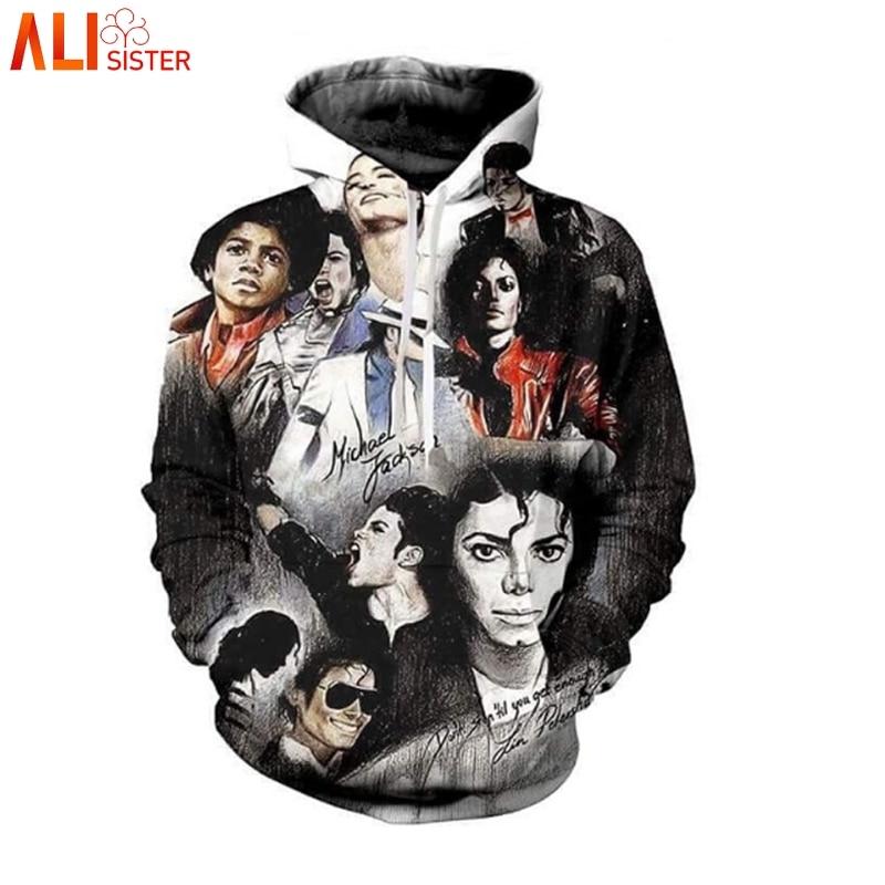 bd9421c178e Detail Feedback Questions about Alisister Michael Jackson Print 3D Hoodies  Sweatshirt Men Women Plus Size Outfits Pullover Commemorative Clothing  Dropship ...