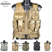 Mens Military Hunting Vest Field Battle Airsoft Molle Tactical Vest Army Combat Uniform Military Tactical Vest