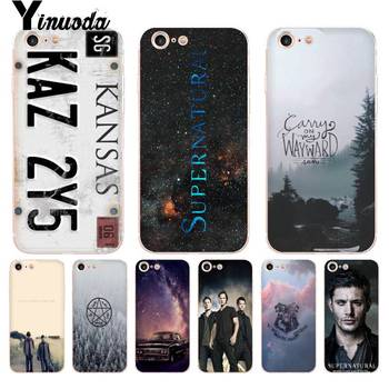 Yinuoda TV Play Supernatural License Plate KANSAS KAZ 2Y5 Phone Case for iPhone X 6 6s 7 8 8Plus 5 5S 5C11 11pro 11promax image