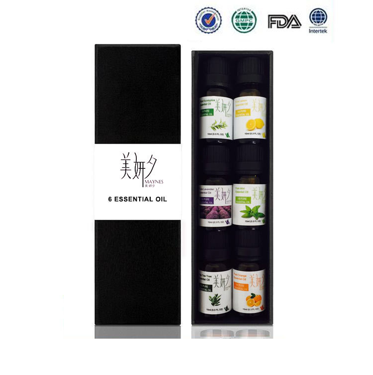 цена на Essential Oils For Aromatherapy Diffusers Pure Essential Oils Organic Body Massage Relax 10ml Fragrance Oil Skin Care 6pcs