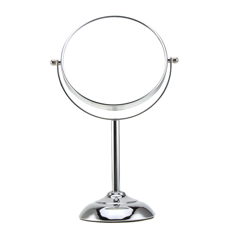 6 Inch 10x Magnification Circular Makeup Mirror Dual 2Sided Round Shape  Cosmetic Stand for