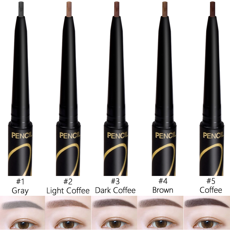 Beauty & Health Beauty Essentials New Sale Long-lasting Waterproof Automatic Eyebrow Pencil 5 Colors Soft And Smooth Fashion Eye 0.14g Makeup To Prevent And Cure Diseases
