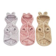 2019 PeDogs Cute Warm Coats with Caps RabbiEar for Winter and Autumn Puppy Cloth PeDog Supplies