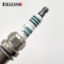 4pcs/lot Iridium Spark Plug For Benz Tuned Turbo CLS55 Toyota Volvo Suzuki Mitsubishi Dodge Saab BMW IKH20 5344 IKH20-5344(China)