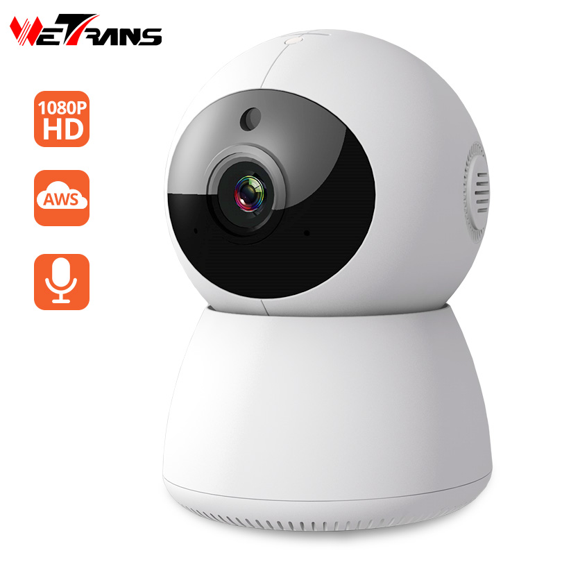 купить Wetrans Mini Wifi Camera IP Cam 1080P Wi-fi CCTV Security Wireless Smart Home Camera Cloud Pan Tilt Surveillance Camara IP Audio по цене 2037.21 рублей