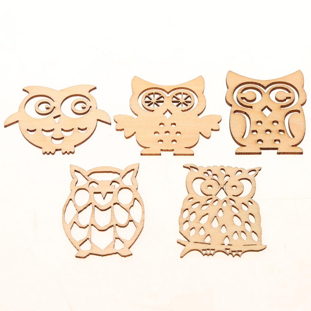 craft wholesale embellishments 25pcs large OWL CHARMS mixed pendant acrylic