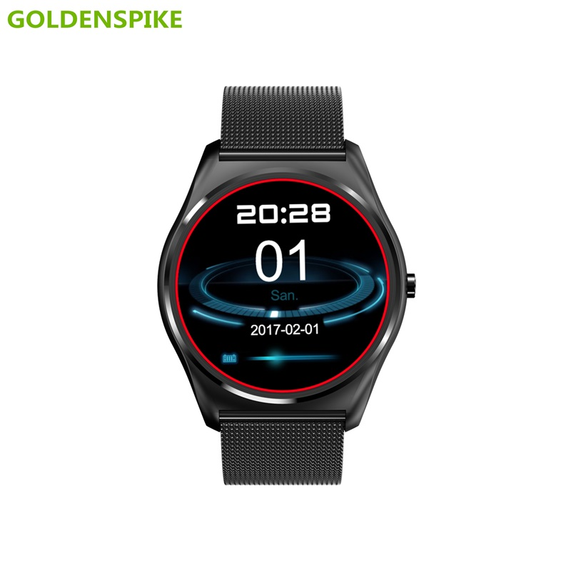 GOLDENSPIKE Bluetooth Smart Watch N3 Smart Electronics Wristwatch Sport Watch For Android Smartphone Health Smartwatch pk A8S