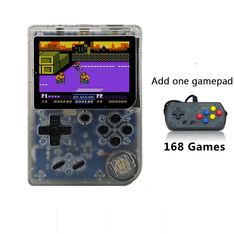 CoolBaby RS-6 A Portable Retro Mini Handheld Game Console 168 Calssic Games 3.0inch 8 bit Color Game Player For FC Game Kid GiftCoolBaby RS-6 A Portable Retro Mini Handheld Game Console 168 Calssic Games 3.0inch 8 bit Color Game Player For FC Game Kid Gift