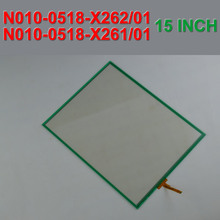 N010-0518-X262/01 N010-0518-X261/01 15.1 inch touchscreen for FANUC touch panel 4 wires touch screen panel glass,Free shipping