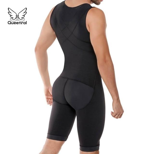 Bodysuit Mannen Gewichtsverlies Shapewear Full Body Shapers Afslanken Plus Size Open Kruis Buik Shaper Taille Trainer Ondergoed corrigerend ondergoed korsett for women corrigerend ondergoed dames