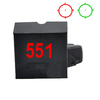 Spike 551 Tactical Hunting Optics Sight Red Green Dot Holographic Scope With 20mm Rail For Ar15