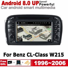 2 Din Android Radio GPS Navigation For Mercedes Benz CL-Class W215 1996~2006 NTG Stereo Autoaudio Car DVD Multimedia Player Navi 2 din car multimedia player for bmw 5 series e39 1995 2003 android radio gps navigation stereo autoaudio car dvd player