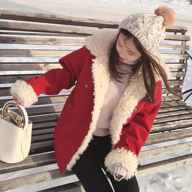 mishow female   Parkas   Winter 2018 hoofed new jackets Korean style Warm coat MX17D6504