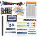 Starter Kit Para Arduino Electrónicos Resistor Fans Kits Breadboard Cable de Resistencia Condensador LLEVÓ Potenciómetro para Arduino